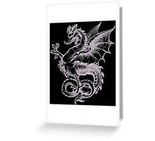 Dragon Monster Greeting Card