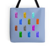 Phone booth on serenity background Tote Bag