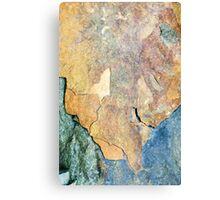 Mineral Abstract Canvas Print