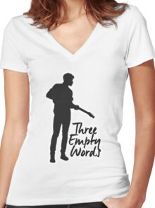 Shawn New August #2 Women's Fitted V-Neck T-Shirt