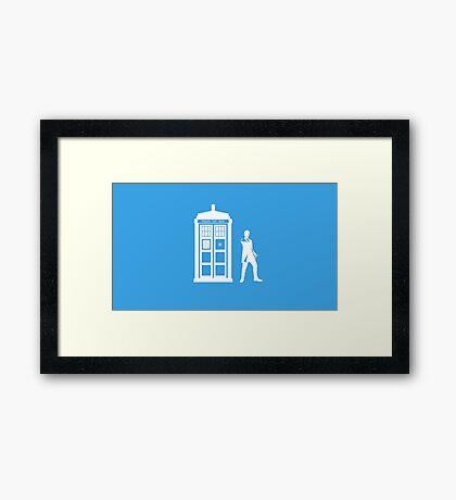 Mistery Box - The Doctor Framed Print