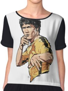 BruceLee Chiffon Top