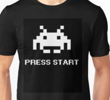 Space Invaders - PRESS START Unisex T-Shirt