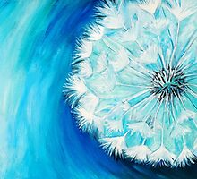 White Dandelion by Alison Newth