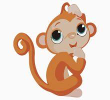 Cheeky Monkey Kids Tee