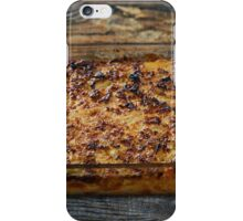 Macaroni with cheese, oven baked iPhone Case/Skin