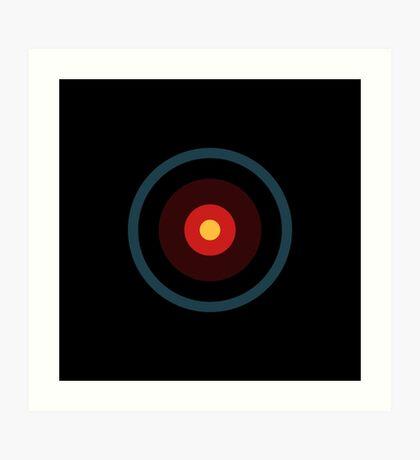 Pop eye, HAL 9000 Art Print