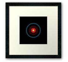 Pop eye, HAL 9000 Framed Print