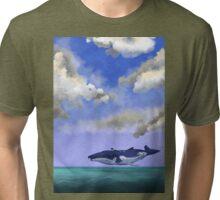 Deep Ocean Tri-blend T-Shirt