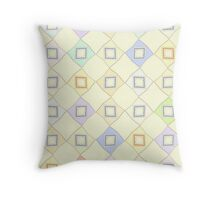 Pastel Kites Throw Pillow