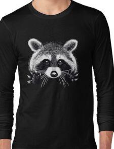 Little raccoon buddy Long Sleeve T-Shirt