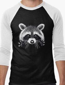 Little raccoon buddy Men's Baseball ¾ T-Shirt