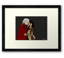Manon and Elide Framed Print
