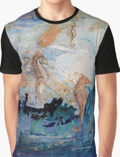 The Splash Of Life 24. The Sea Dance Graphic T-Shirt