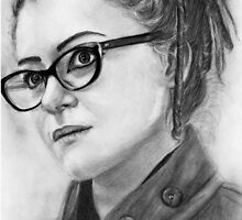 Orphan Black - Cosima Niehaus by bellepickering