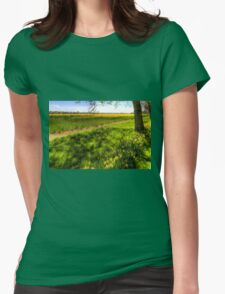 Daffodil Meadow Womens Fitted T-Shirt
