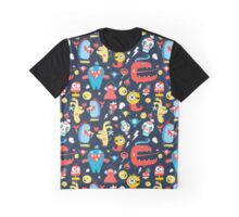 Seamless jolly pattern with monsters Graphic T-Shirt