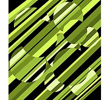 Green pattern Photographic Print