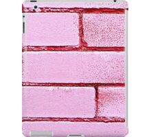 Pink Bricks  iPad Case/Skin