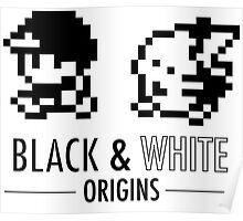 Pokemon Black & White Origins Poster