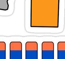 NERF TOY DESIGN- CROWN OF DARTS Sticker
