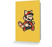 Super Mario Bros 3 Vintage Pixels V02 Greeting Card
