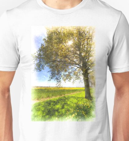 The Daffodil Summer Farm Art Unisex T-Shirt