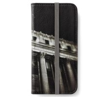 NYC Post Office at Night iPhone Wallet/Case/Skin