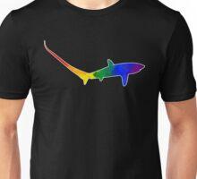 Rainbow Thresher Shark Unisex T-Shirt