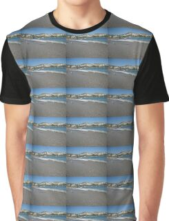 Seagull Beach Greece Graphic T-Shirt