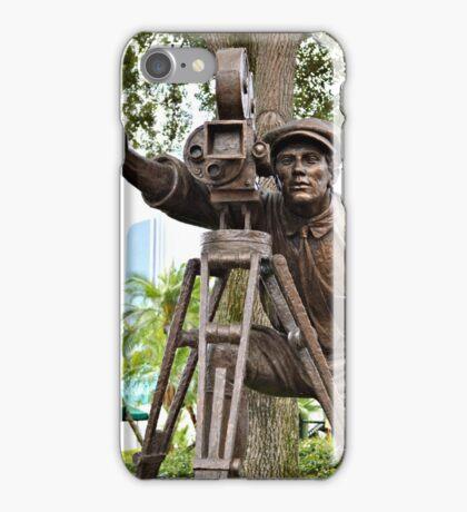Hollywood Studios Film Director Statue iPhone Case/Skin