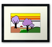 Homage to Clarice Cliff Framed Print