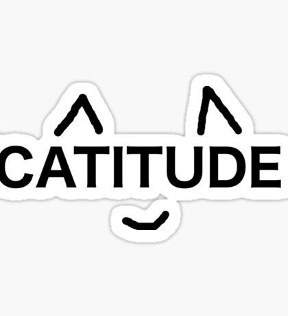 catitude Sticker