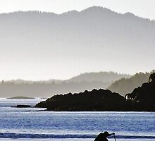 Paddle Boarding in Tofino by Alison Newth