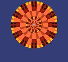 Fire Tone Mandala Unisex T-Shirt