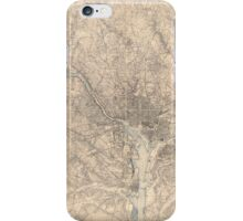 Washington and vicinity, Maryland, District of Columbia, Virginia (1926) iPhone Case/Skin