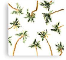 Under the coconut palms Canvas Print