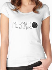 Mermaid Life Women's Fitted Scoop T-Shirt