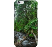 Hoh Rainforest Olympic Peninsula Washington iPhone Case/Skin