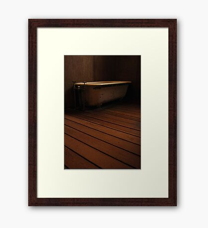 Old Bathtub Framed Print