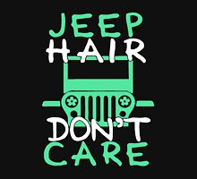 Jeep hair do not care Womens Fitted T-Shirt