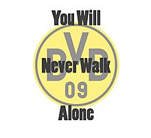 Borussia Dortmund - Never Walk Alone Photographic Print