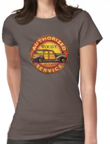 Woody wagon service - all makes serviced Womens Fitted T-Shirt