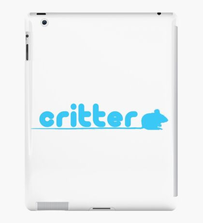 critter (twitter parody) iPad Case/Skin