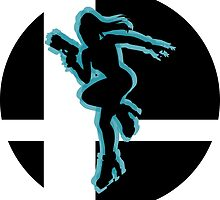 SUPER SMASH BROS: Zero Suit Samus -Wii U by Manbalcar