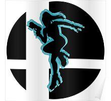 SUPER SMASH BROS: Zero Suit Samus -Wii U Poster