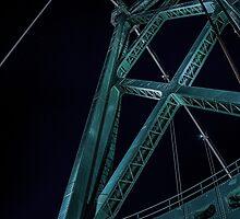 Lion's Gate Bridge, Vancouver, B.C. by mspixvancouver