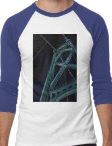 Lion's Gate Bridge, Vancouver, B.C. Men's Baseball ¾ T-Shirt