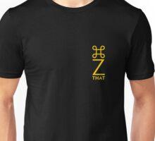 command z vertical yellow Unisex T-Shirt