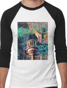 The gothic tower Men's Baseball ¾ T-Shirt